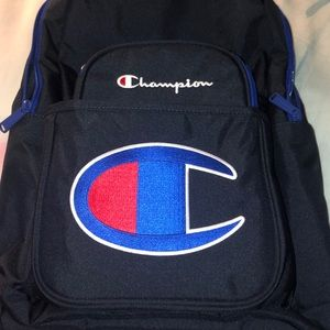 Champion Accessories - Champion Backpack & Lunch Kit Combo Navy Youth New
